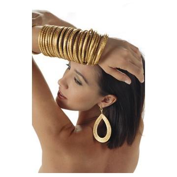"Bracelet boule & pierre ""aventurine"""