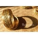 Bracelet or & pierre ( disponible en Crystal de Roche)