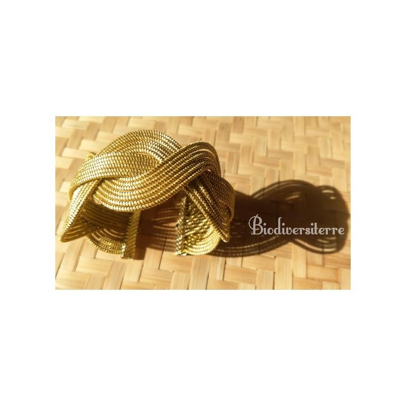 Bracelet tradition étoiles ou coccinelles d'Or