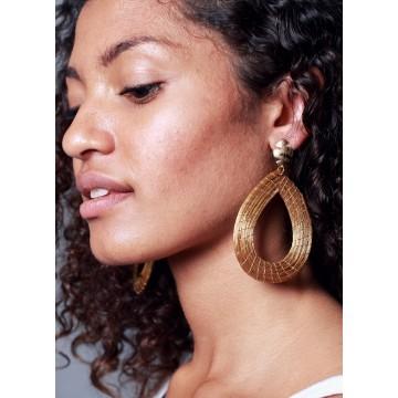 Boucles d'oreilles Ondes