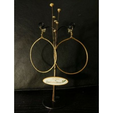 Boucles Double lassets d'Or