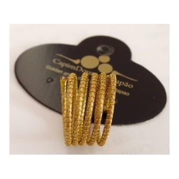 bracelet de bras serpent d'or