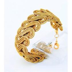 Bracelet capim,buriti et etoile