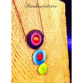 Collier triple rond
