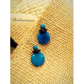 Boucles d'oreilles MIss Turquoise