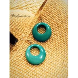 Boucles d'oreilles Eclipse Turquoise
