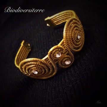 Bracelet 12 brins et spirales
