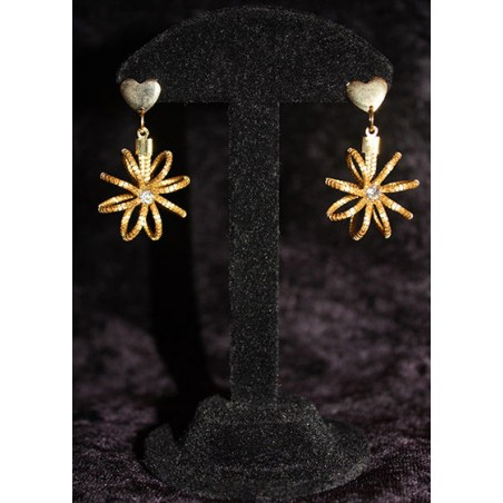 Boucles double Spirales d'or