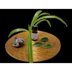 Collier pétale orange